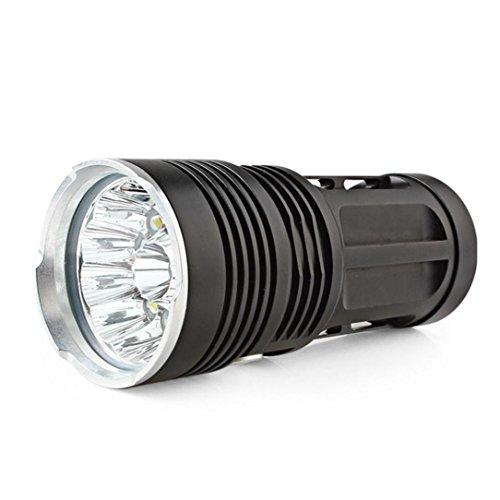 ZYooh XML T6 LED Flashlight, High power 34000 LM CREE Flashlight Torch Lamp 3 Modes 4X18650 (14X) by ZYooh (Image #2)