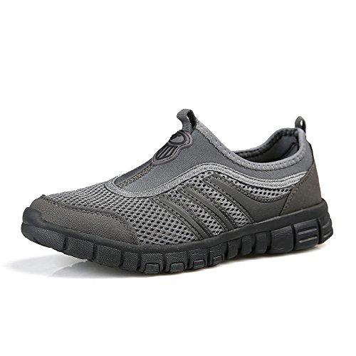 de Suela de Tela Antideslizante dark Zapatos Suave de Verano de 7A17 gray Transpirables de Hasag Malla Zapatos Mamá Deportivos Zapatos Zapatos aqw0qFBp