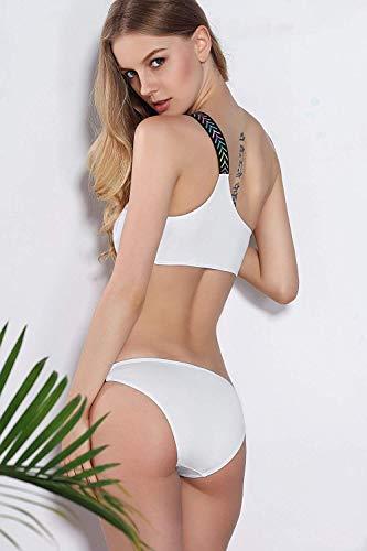 Bikini Suit S Oudan Taille De Bikini Woman L Bain coloré fashion Maillot BqOwT