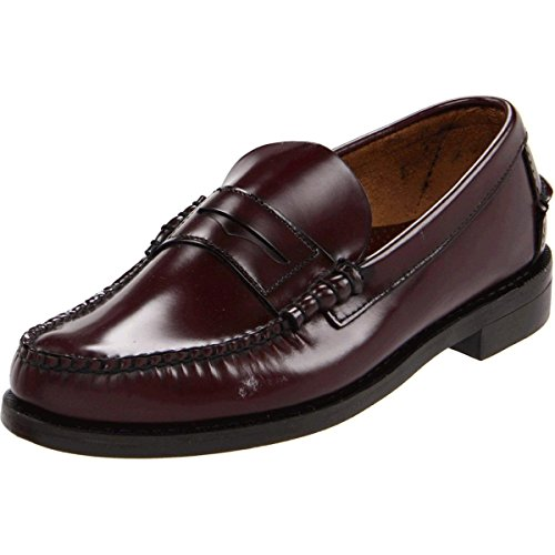 (Sebago Men's Classic Loafer,Antique Brown,9 E US)