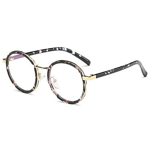 Fantia Children Glasses Frame 8-14 Years Old For Gilrs Round Retro Kids eyeglass - Round Glasses Tortoiseshell Frames