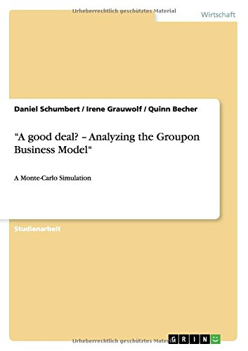 "Download ""A good deal? - Analyzing the Groupon Business Model"" (German Edition) pdf epub"