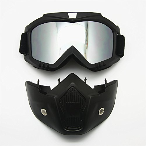 Mirror Motorcycle Helmet - 8