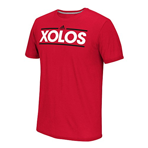 fan products of MLS Club Tijuana Men's Dassler Short Performance Tee, Small, Red