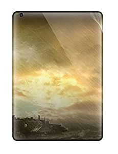 Ipad Air Fantastic Deus Ex Human Revolution Print High Quality Tpu Gel Frame Case Cover