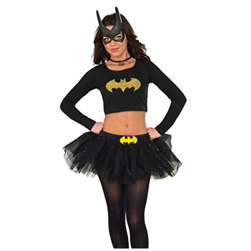 Rubie's Costume Co Women's Top, Batgirl, Small/Medium