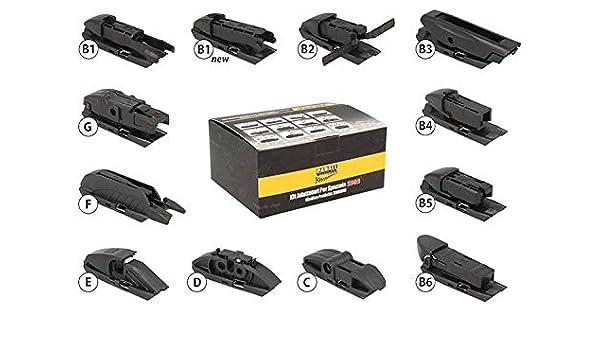 Kit 12 puntas Conectores Adaptadores Conectores para escobillas ...