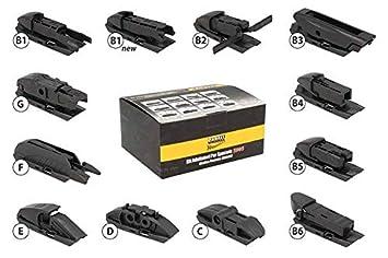 Kit 12 puntas Conectores Adaptadores Conectores para escobillas limpiaparabrisas Carall s985: Amazon.es: Coche y moto
