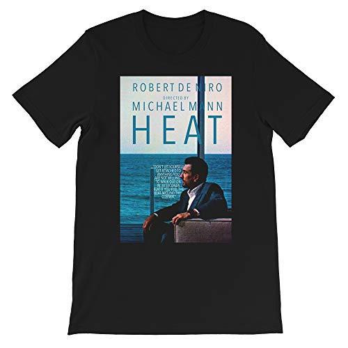 Heat Film Michael Mann Robert De NIRO Al Pacino Val Kilmer Jon Voight Tom Sizemore Gift Men Women Unisex T-Shirt Hoodie (Black-L) (Tom Für Männer)