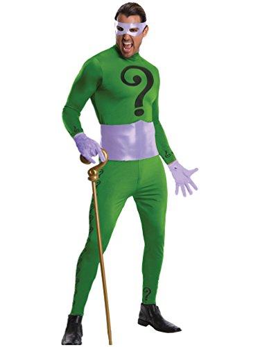 Rubie's Grand Heritage Riddler Classic TV Batman Circa 1966, Green/Purple, X-Large Costume ()
