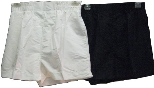 Missy Ladies Micro Fiber Pullon Shorts with 2 Sideseam Pockets. ** 2 Packs **