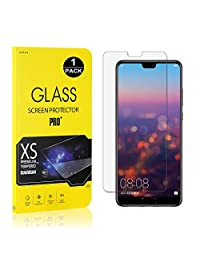 Huawei P20 Screen Protector, Bear Village® Tempered Glass Screen Protector [Lifetime Warranty], 9H Hardness Screen Protector Film for Huawei P20-1 PACK