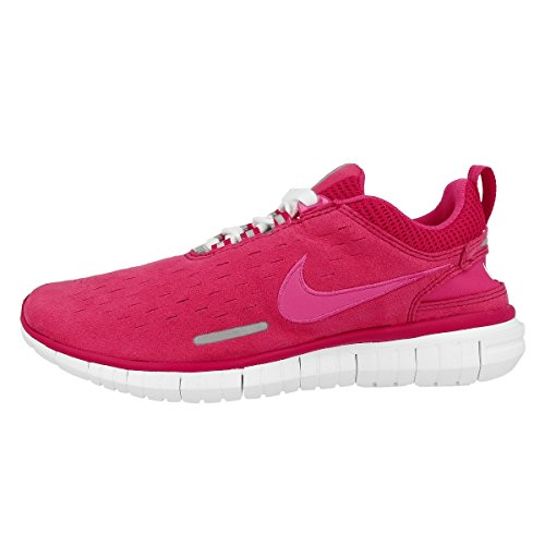 Nike Laufschuhe Free OG '14 Damen wild cherry-vivid pink-white-metallic (642336-600), 35,5, pink