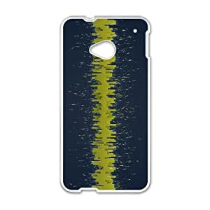 High Quality Specially Designed Skin cover Case equalizer HTC One M7 Cell Phone Case White