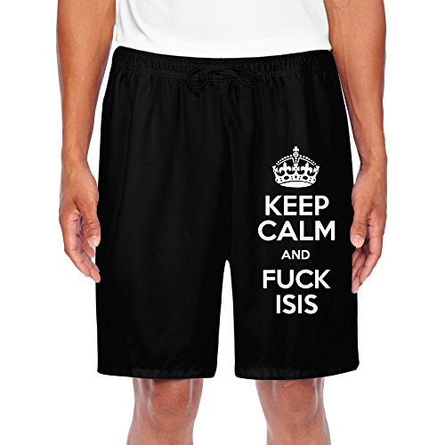 HNN Men's Keep Calm And Fuck ISIS (Isis Spandex Shorts)