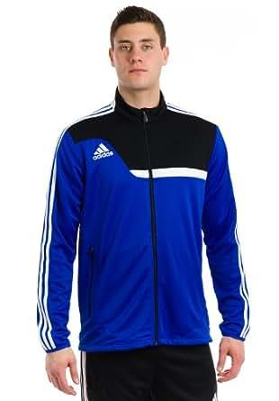 Adidas Men's Tiro 13 Training Jacket, Cobalt/Black/White, Small