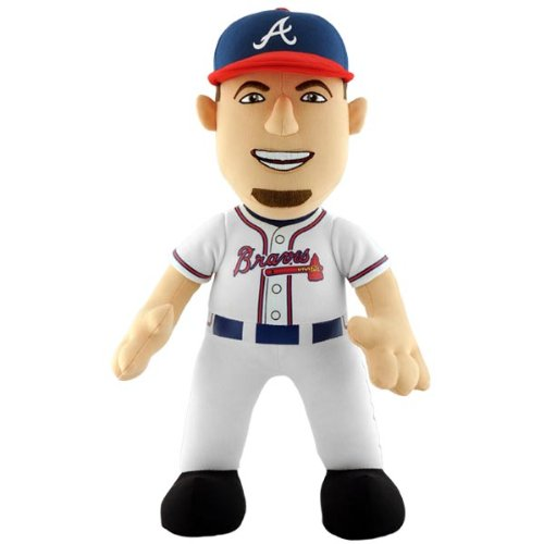 Brian Mccann Braves (MLB Brian McCann #16 Atlanta Braves Plush Doll, 14-Inch)