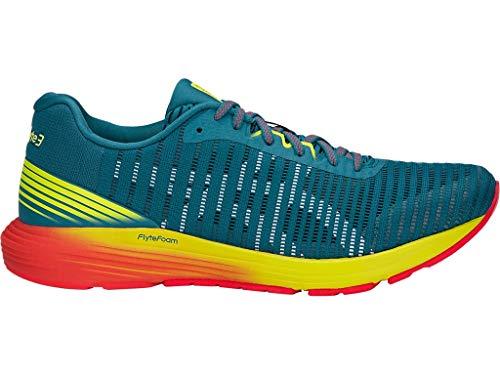 ASICS Men's Dynaflyte 3 Running Shoes, 9M, DEEP Aqua/White