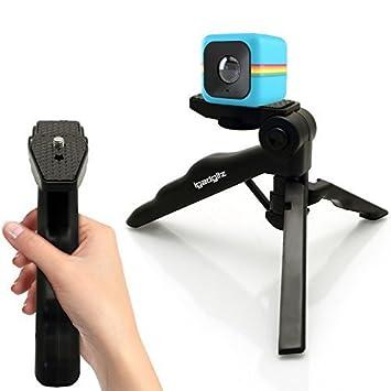 igadgitz 2 en 1 Pistola Mano Estabilizador & Mini Ligera Trípode de Mesa para Polaroid Cube HD, XS100 & XS100i Extreme Edition Action Cámara (Polaroid ...