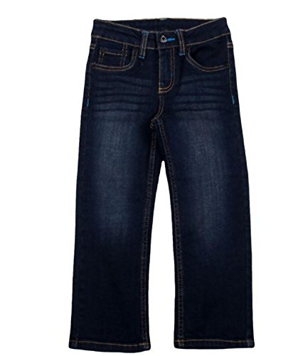 Deep Blue Wash Straight Jean - 7