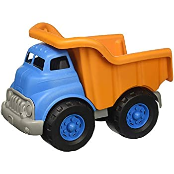 GREEN TOYS CAMION BENNE-Rose