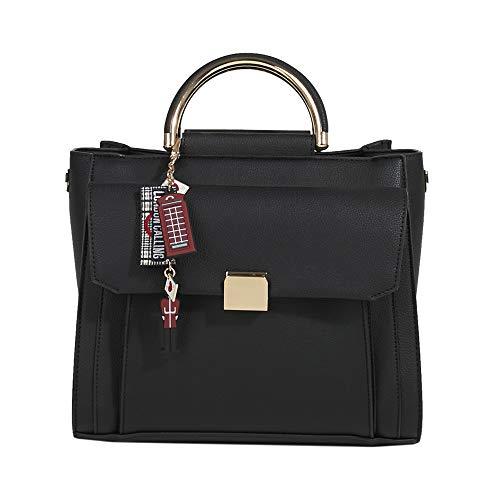 Donne Black Bauletto Nero Parfois London qp6nYxEB
