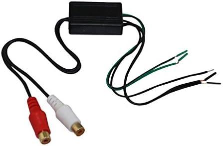 B Blesiya オーディオ スピーカー線→Rca線 ケーブル 出力変換器ケーブル 変換器ケーブル