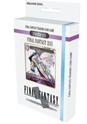 - Final Fantasy TCG XIII Starter Deck (Ice and Lightning)