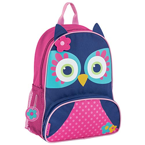 (Stephen Joseph Girls' Little Sidekicks Backpack, Owl, Navy)