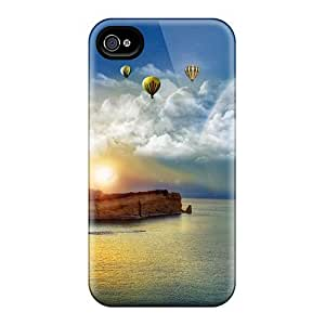 Anti-scratch And Shatterproof Fantasy Nature Phone Case For Iphone 4/4s/ High Quality Tpu Case