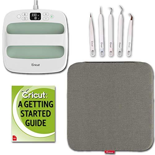 Cricut Mint EasyPress 2 Machine 9 x 9 and Accessories Bundle