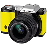 Pentax K-01 16MP APS-C CMOS Compact System Camera with 18-55mm Lens (Yellow) [Unknown Binding]