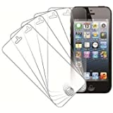 MPERO Collection 5 Pack of Screen Protectors for New Apple iPhone 5