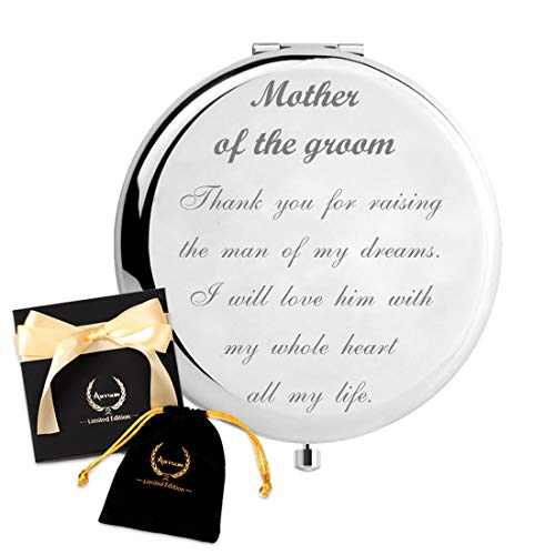 ARTSUN Mother of the Groom gifts,Wedding Keepsake Gift from daughter&son in law,Engraved Gift Present,Limited Edition unique gifts,Christmas Gift (Mother of The Groom)