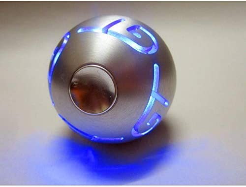 TJCB Auto Schaltknauf LED Auto Schaltknauf Auto Modified Gear Head Aluminiumlegierung Atmosph/ären-Lampe Frosted Anti-Korrosions-Und Anti-Rust Usuversal