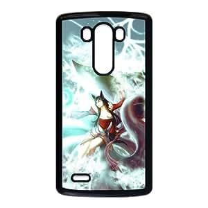 LG G3 Cell Phone Case Black League of Legends Ahri U6X4VE