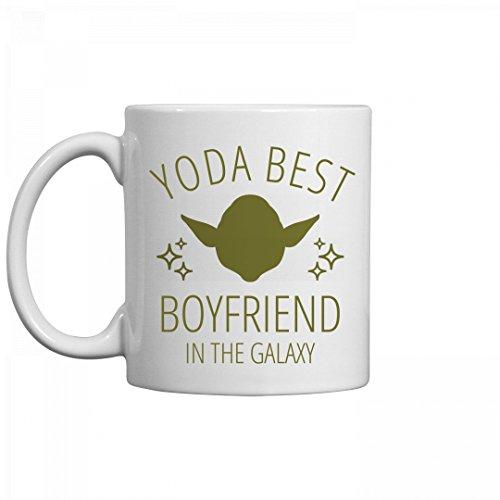 Boyfriend Mug (Yoda Best Boyfriend Jedi Gift: 11oz Ceramic Coffee Mug)