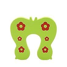 Set of 18Cartoon Baby Infant Safety Door Doorstop Prevent Nipping Hand Butterfly