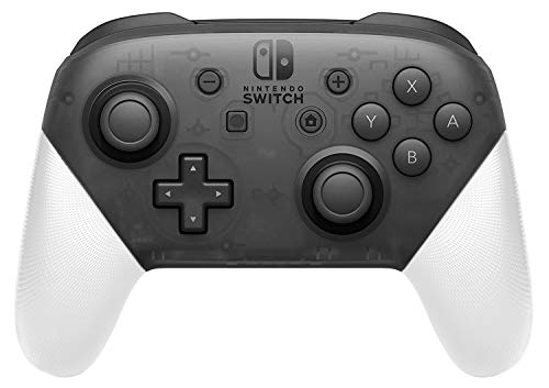 Anti-Slip Grip Shell for Switch Pro Controller, DIY Delicate and Textured Replacement Grip Handles Cover Shell for Nintendo Switch Pro Controller (White) (Medium Grip Shell)