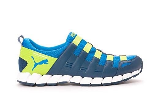 Puma Men's Osu V4, BLUE-LIME-BLUE, 11 M US