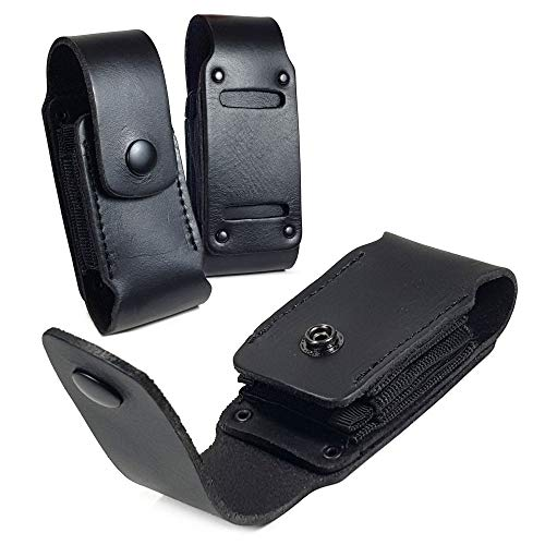 TUFF LUV Genuine Leather Case Sheath Pouch for Leatherman Charge/Charge TTI - WP951 - ()