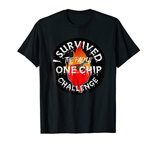 Paqui One Chip Challenge Ghost Pepper Survival T-Shirt
