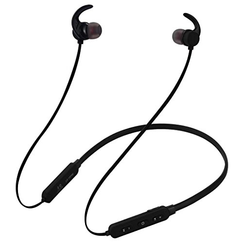 Bluetooth Headphones, Wireless Sports Earbuds with Mic, In-Ear Sweatproof Earphones, Bluetooth 4.2 Super Sound Quality Lightweight Headsets