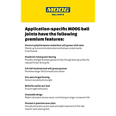 MOOG Chassis Products K6693 BALL JOINT: Automotive