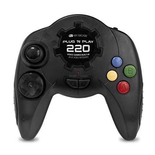 (My Arcade - Plug N Play Controller with 220 Built-in Retro Style Games - Electronic Games)