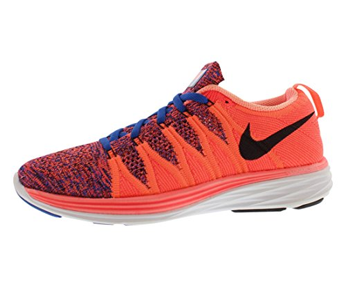 promo code 99c9d 243eb Galleon - NIKE Womens Flyknit Lunar2 Running Trainers 620658 Sneakers Shoes  (US 6.5, Orange 800)