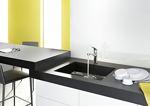 hansgrohe sp ltisch einhebelmischer focus mit schwenkbarem auslauf verchromt 31806000. Black Bedroom Furniture Sets. Home Design Ideas
