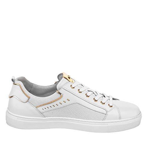 P907570d Bianco Nero Femme Sneakers Giardini 5w5nr8