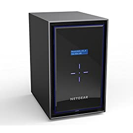 NETGEAR ReadyNAS RN428 8 Bay Diskless High Performance NAS, 80TB Capacity Network Attached Storage, Intel 2.1GHz Quad Core Processor, 4GB RAM, (RN42800) 42 HIGH-PERFORMANCE - Get 2x faster business application processing with the latest 64-bit technology STORAGE FROM THE NETWORK EXPERT- Professional grade NAS, designed in-house by the market leader in SMB networking YOUR BEST BACKUP PLAN - Protect your data against ransomware with the most effective on-premises data backup solution