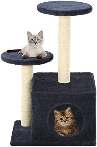 DAYUMAOJIN Play Towers Árboles para Gatos 60 cm Rasguños de ...